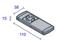 h rmann handsender hs2 40 685 mhz auf rechnung kaufen. Black Bedroom Furniture Sets. Home Design Ideas