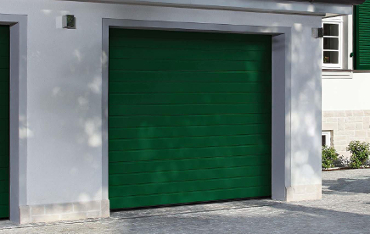 Garagentor holz grün  LTE Sectionaltor Hörmann