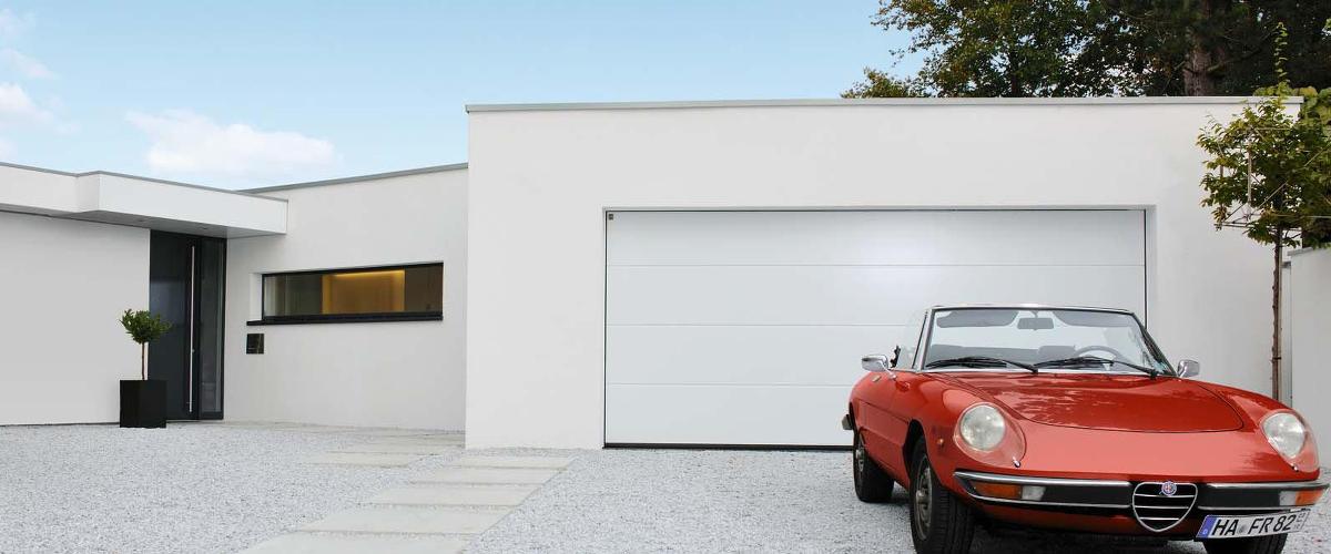 Torfinder f r sectionaltore von h rmann - Ingresso garage ...